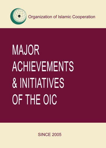 role and achivements of the oic mission essay Come to learn of john galt's core values of self-esteem, reason and purpose and how you can make them part of your authentic self b developing a mission part of 'designing your life blueprint' includes a unifying direction in life.