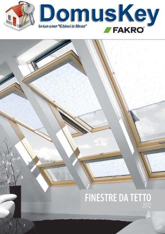 Catalogo generale abbaini e lucernari fakro by stefano for Finestre tetto fakro
