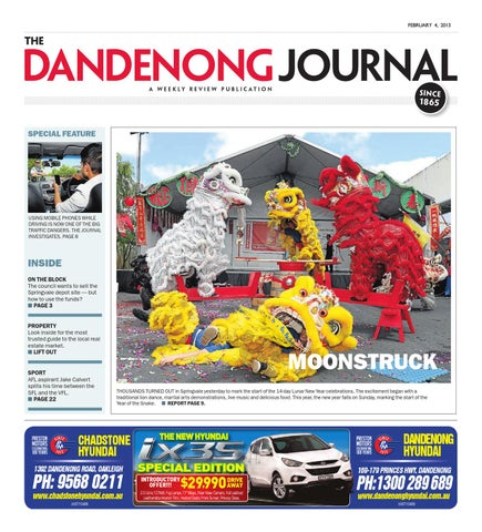 The Dandenong Journal by The Weekly Review issuu Issuu