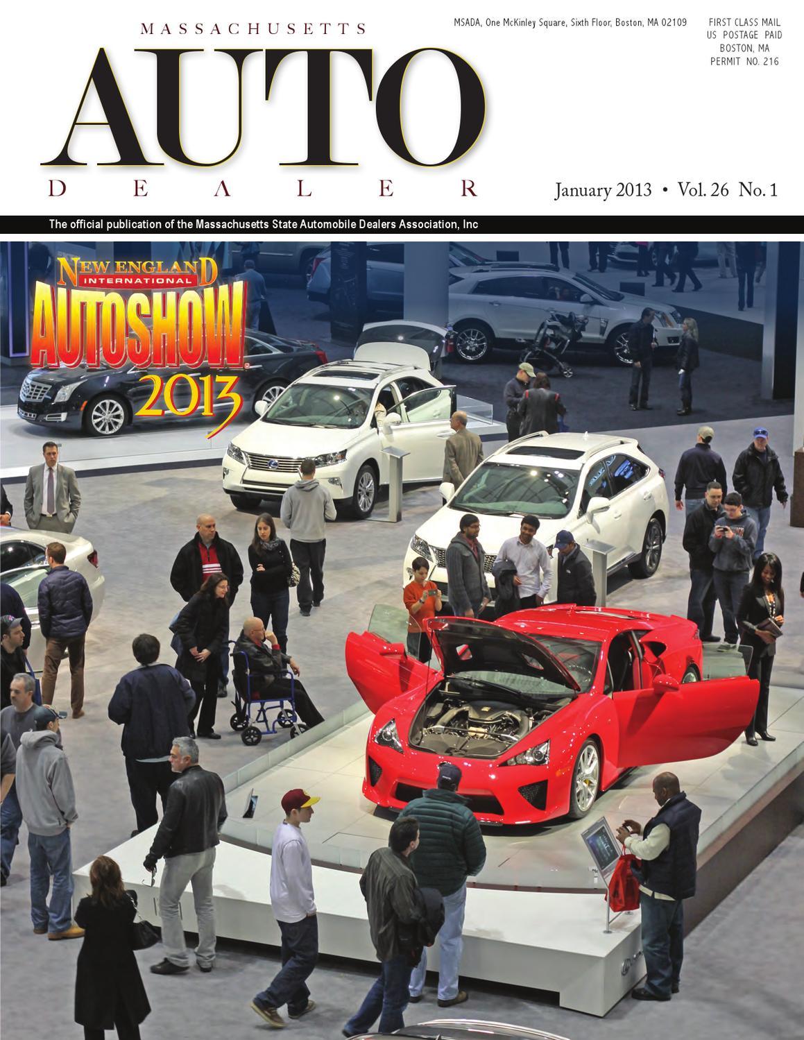 Massachusetts Auto Dealer Magazine by Massachusetts State Automobile ...