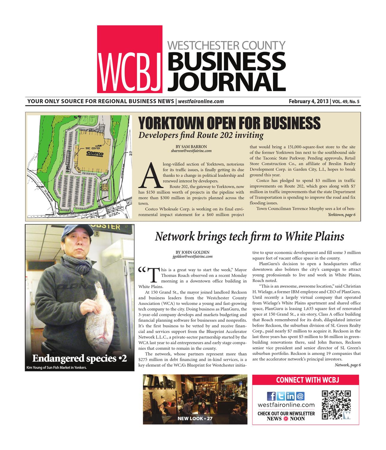 Westchester County Business Journal by Wag Magazine issuu