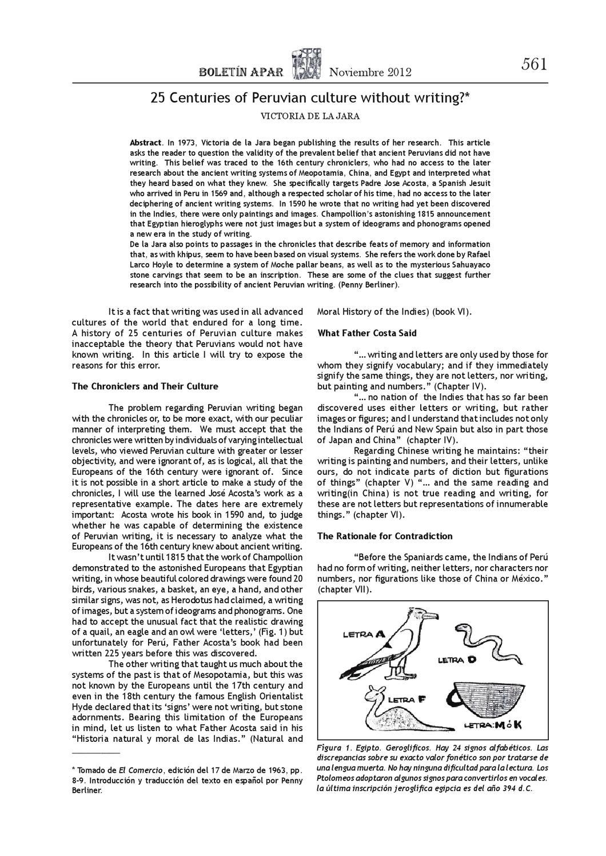 Boletín APAR 13-14 by APAR PERU - issuu