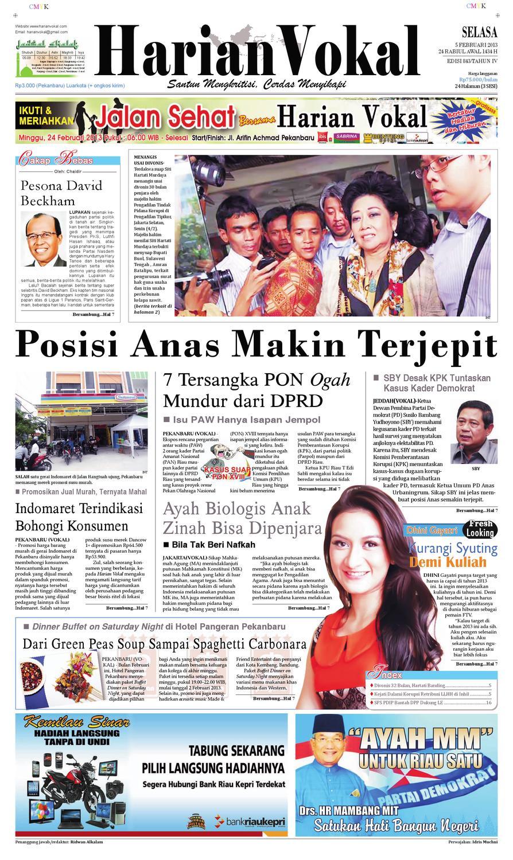 Harian Vokal Edisi 5 Februari 2013 By Riau Publisher Issuu Produk Ukm Bumn Bunge Tanjung Betabur