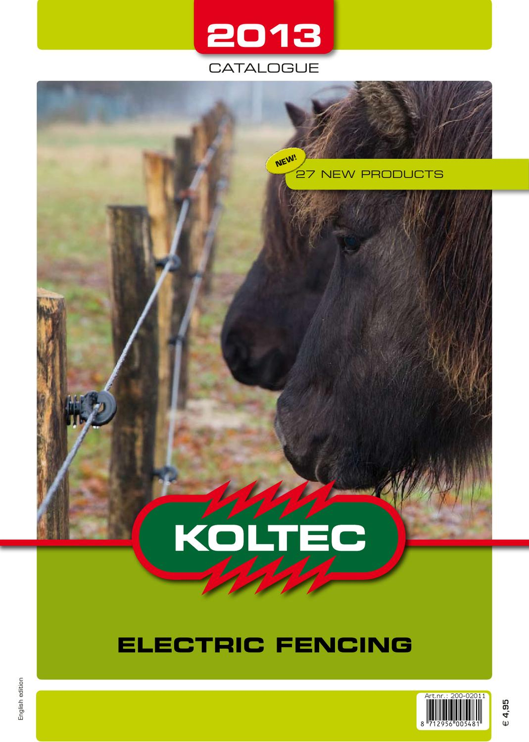 Koltec Catalogue 2013 By Hilko Dammer Issuu Electric Fence Wire Joiner 25pcs