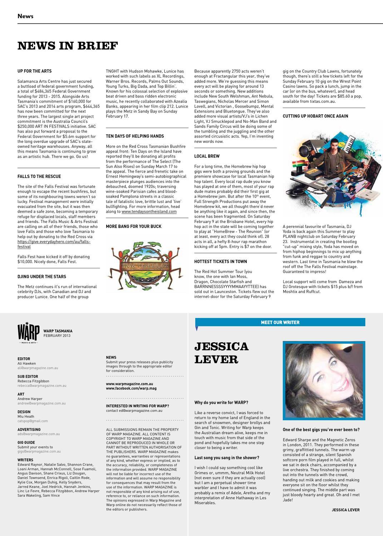 Warp Magazine February 2013 by Warp Magazine - issuu