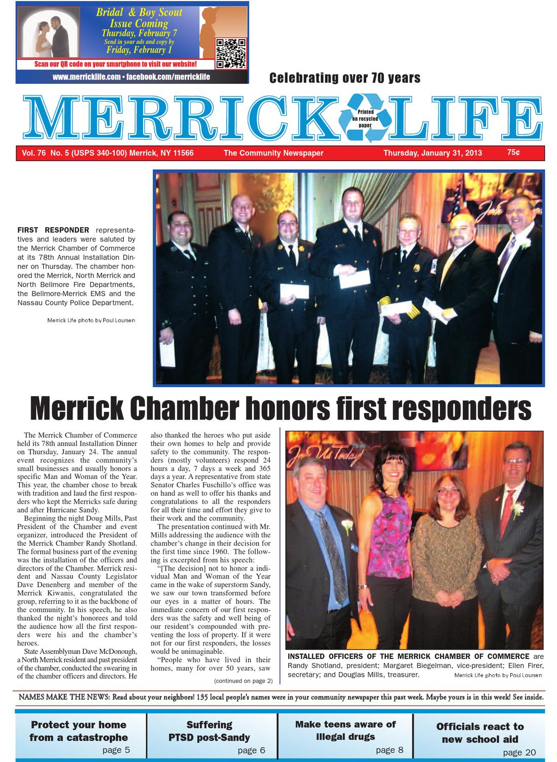 ML 1-31-13 by Merrick Life, Bellmore Life, Wantagh Seaford