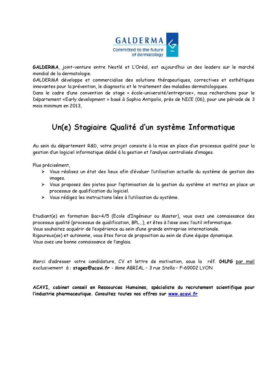 Annonce 04lpg By Apiep Faculte De Pharmacie De Paris Sud 11 Issuu