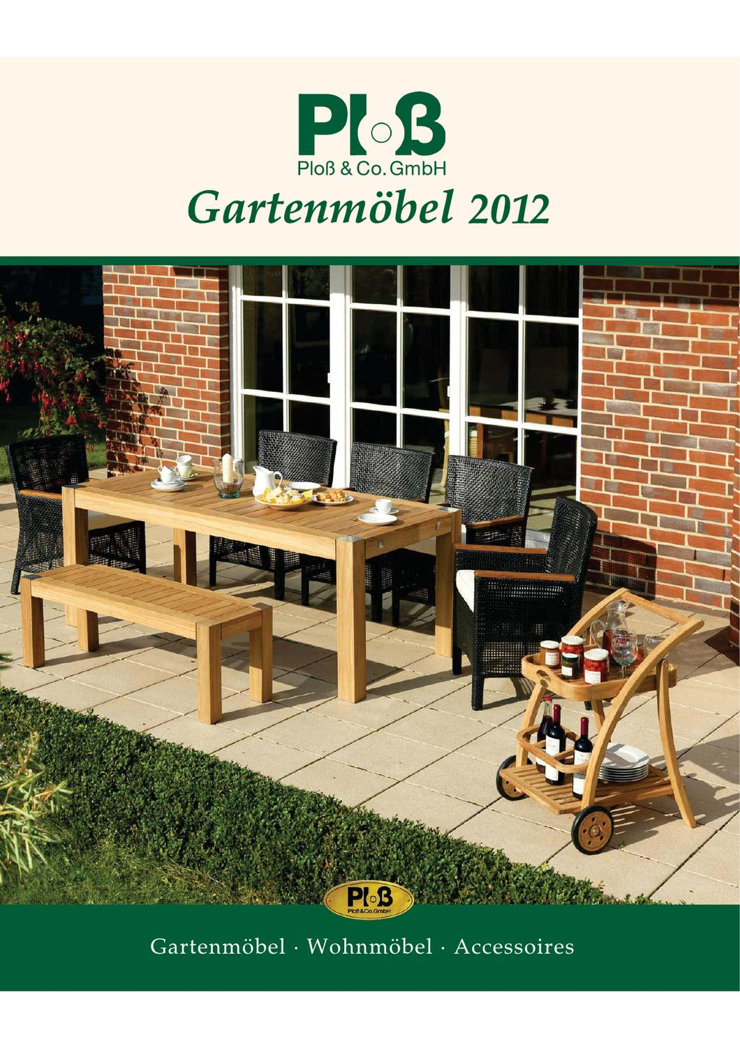 plo gartenm bel teil 2 by friedrich lembke issuu. Black Bedroom Furniture Sets. Home Design Ideas