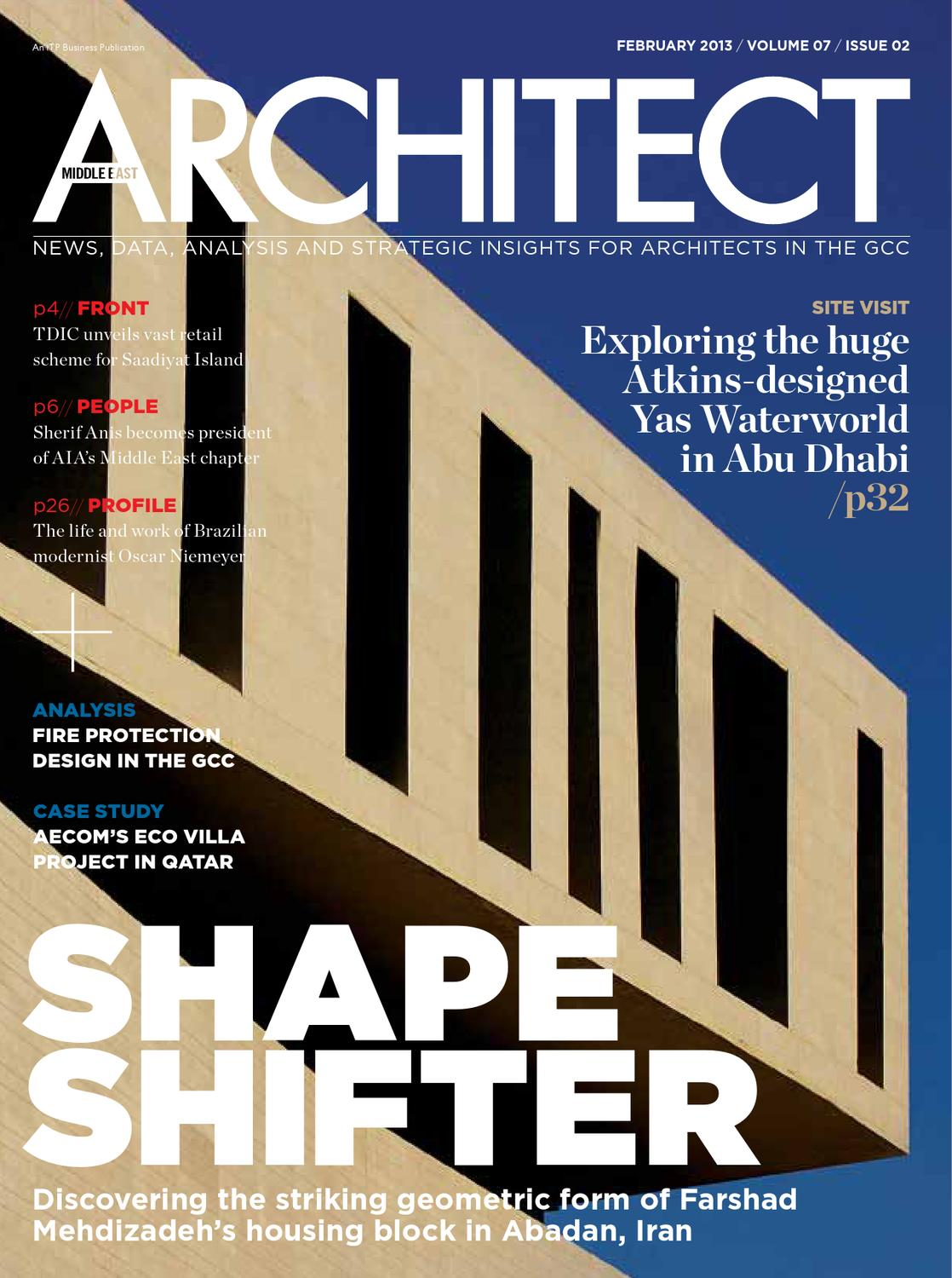 Middle East Architect February 2013 By Centroid Planners Architects Engineers Issuu