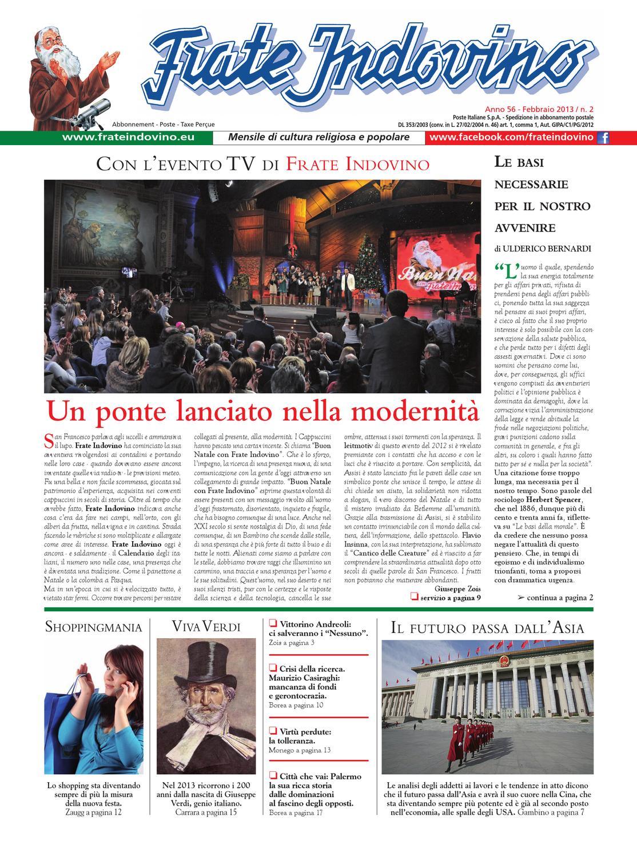 Febbraio By Edizioni Frate Indovino Issuu