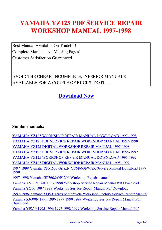 jeep commander factory service manual pdf