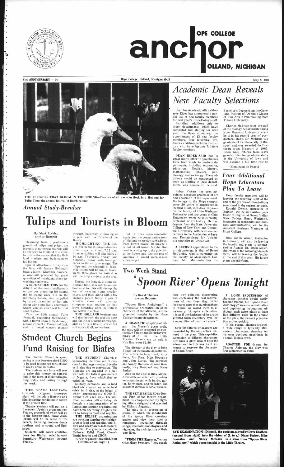 05-09-1969 by Hope College Library - issuu
