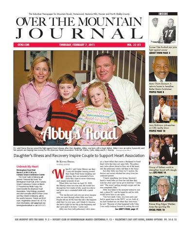 February 7, 2013 Current Issue by Over the Mountain Journal