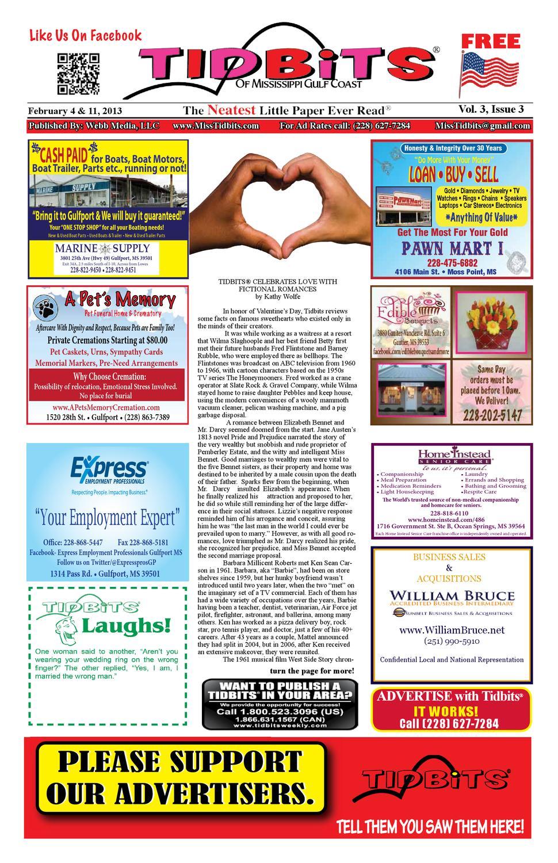 tidbits of mississippi gulf coast vol 3 issue 3 by tidbits