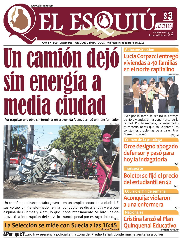 El Esquiu Com Mi Rcoles 6 De Febrero 2013 By Editorial El Esqui  # Muebles Rex Hurlingham
