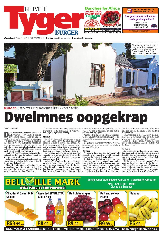 Tygerburger Bellville 6 Feb 2013 by Tygerburger Newspaper