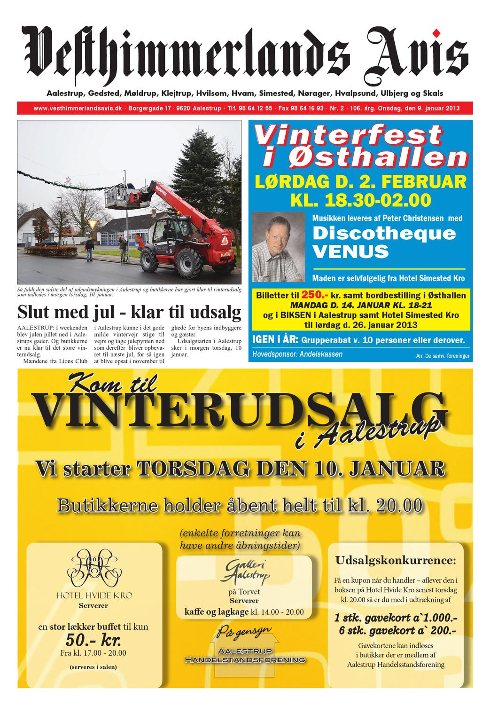 da481e1e2352 Vesthimmerlands Avis nr. 2 - 2013 by Vesthimmerlands Avis - issuu