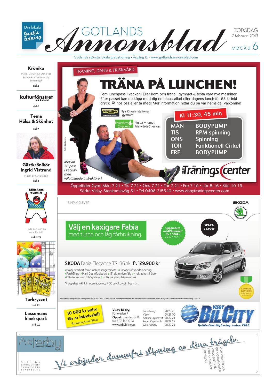 Gotlands Annonsblad 2013 v.06 by Svenska Civildatalogerna AB - issuu 3c0f8d33c56da