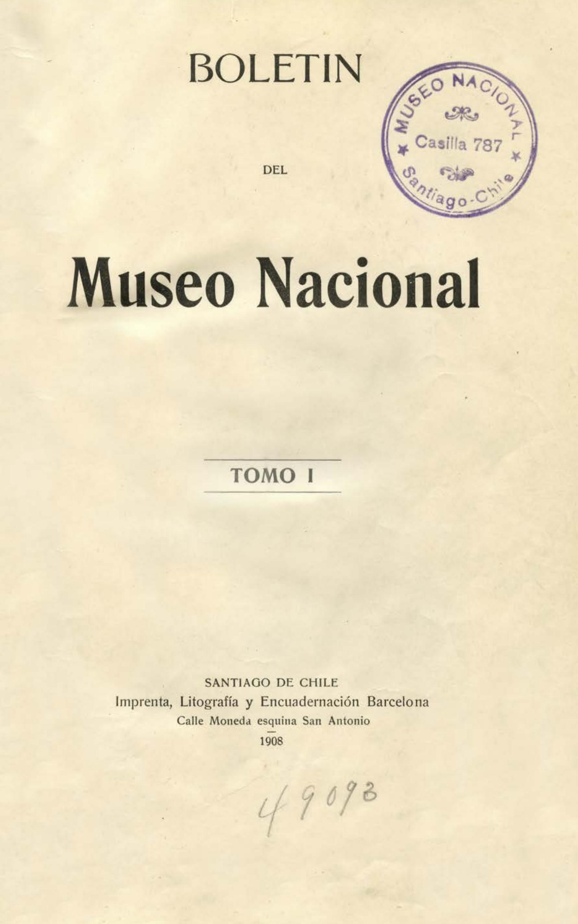 Boletin-01 by Museo Nacional de Historia Natural - issuu