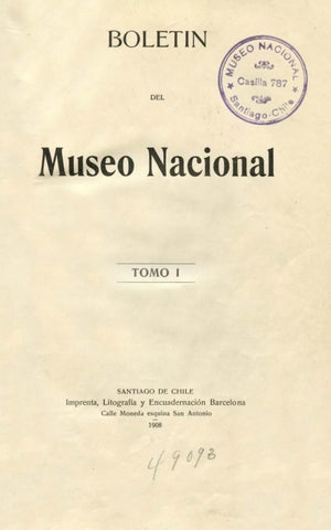 Boletin-01 by Museo Nacional de Historia Natural - issuu