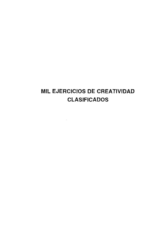 ejercicios de creatividad by anabel esteban hernández - issuu