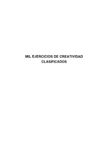 Ejercicios de creatividad by anabel esteban hernndez issuu page 1 urtaz Images