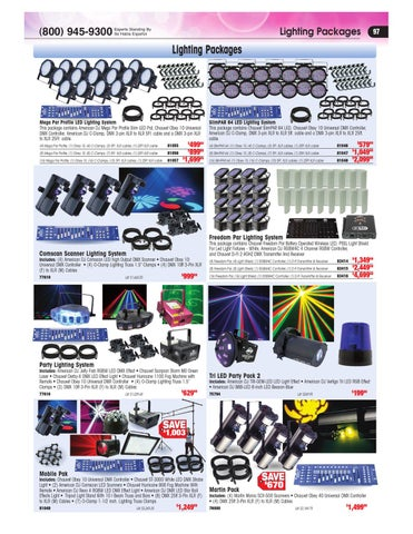 Page 97. Lighting Packages