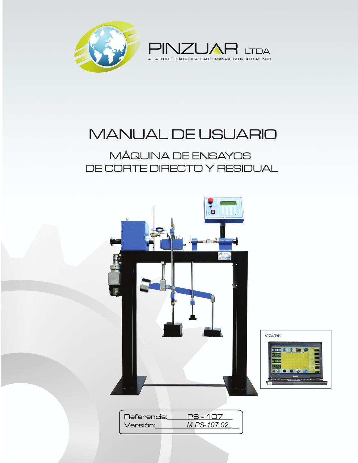 Manual de Corte Directo Ref. PS-107 by Publicidad Pinzuar - issuu