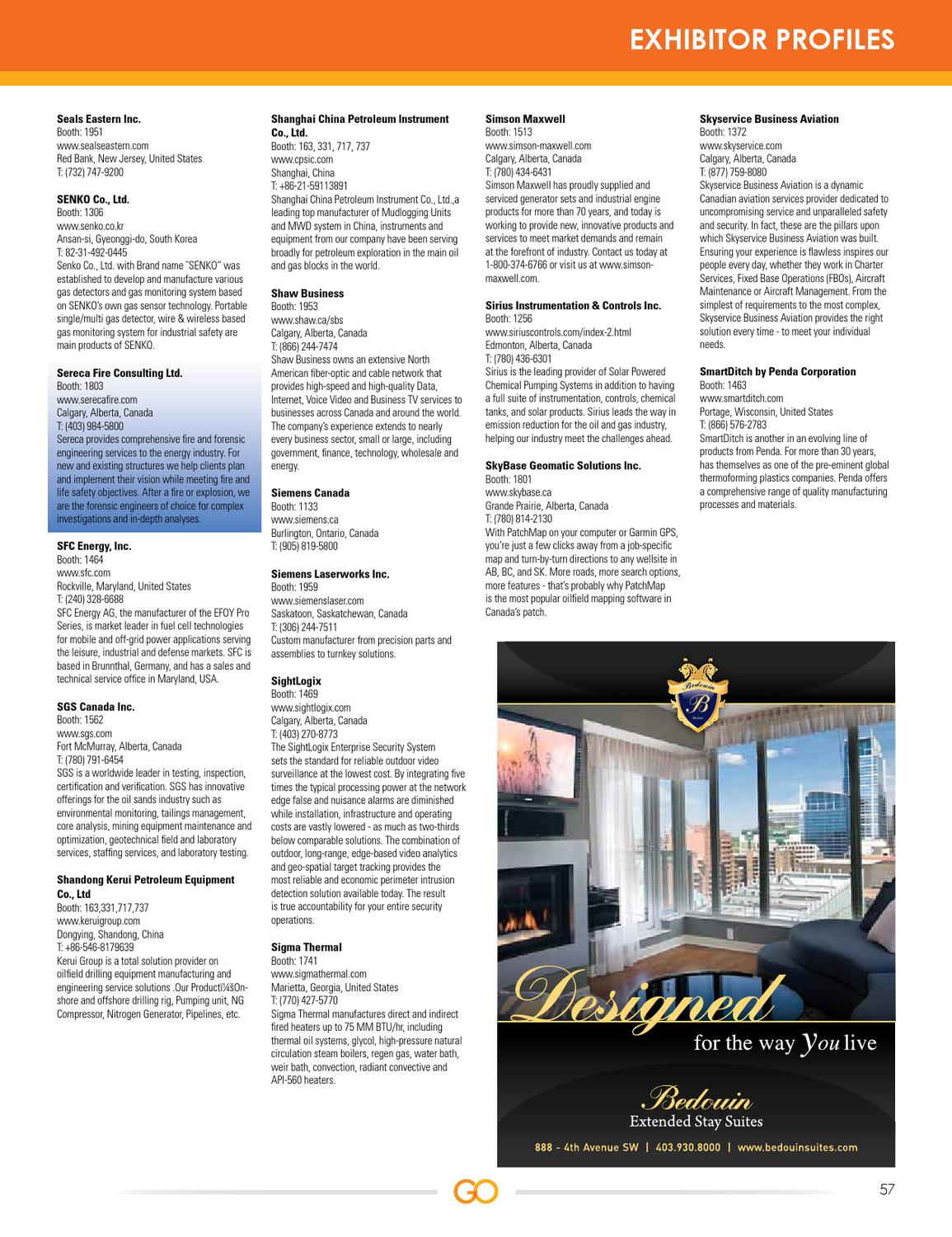 Gas & Oil Expo 2011 Event Guide by dmg events - issuu
