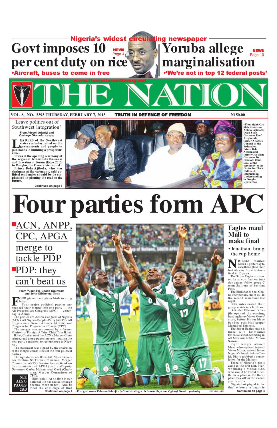 The Nation February 07 2013 by The Nation - issuu