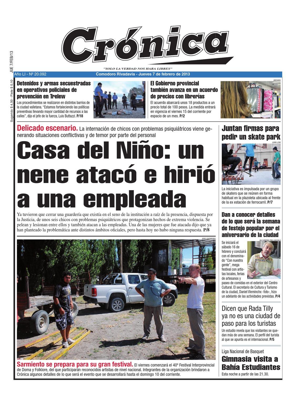 16663eeb1a6f011654fe25ae8ee74800 by Diario Crónica - issuu 7487b90219