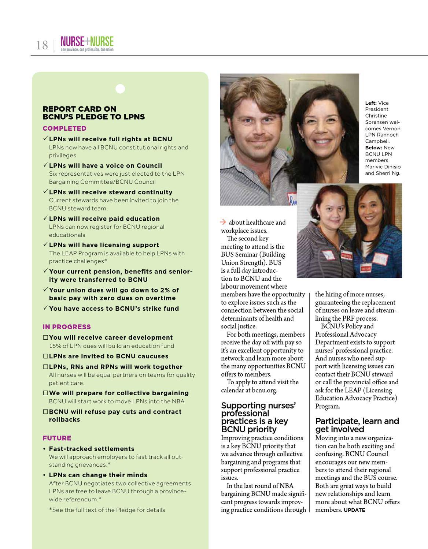 BCNU Update Magazine Dec. 2012 by BC Nurses\' Union - issuu