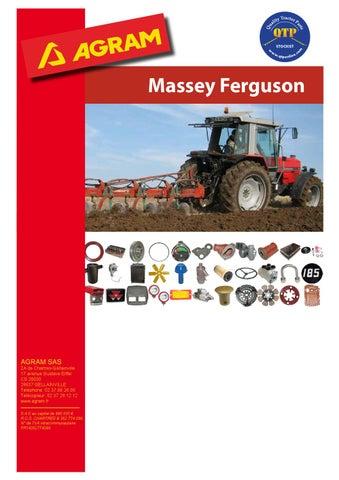Ferguson TE 20 Massey Ferguson 35 135 240 550 Exhaust Clamp 2 1//8 Inch