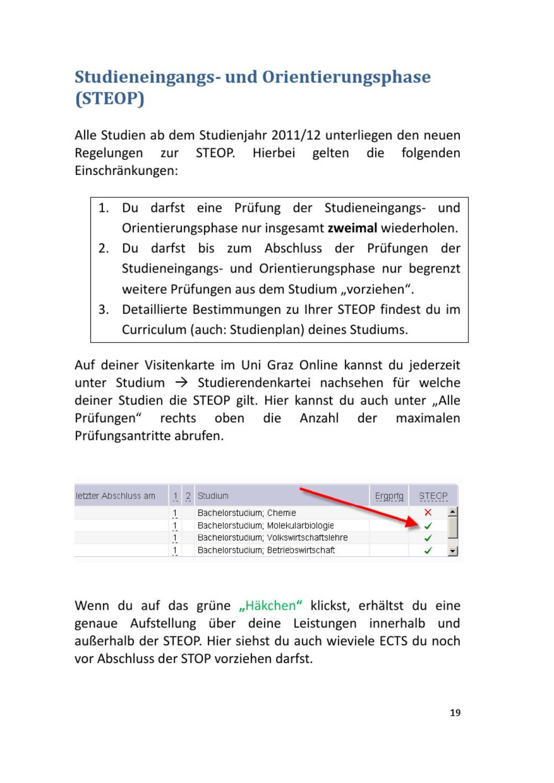 Studienleitfaden Sportwissenschaften Ss2013 By Oeh Unigraz