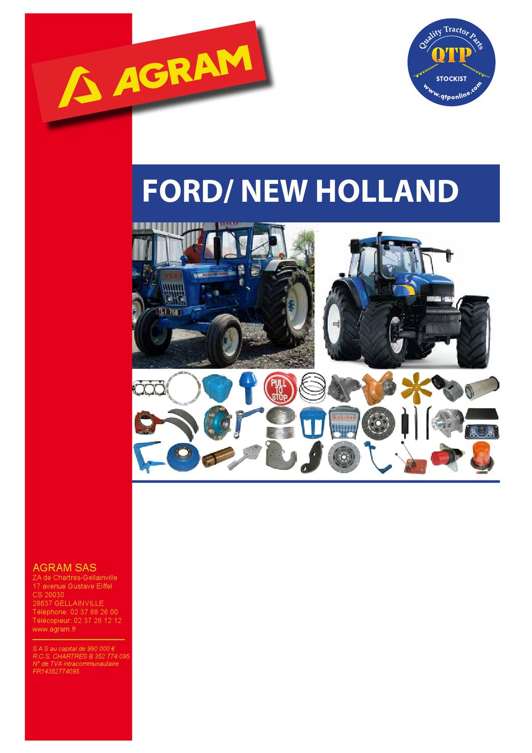Ford Agram By Quality Tractor Parts Issuu John Deere 2150 Wiring Harness