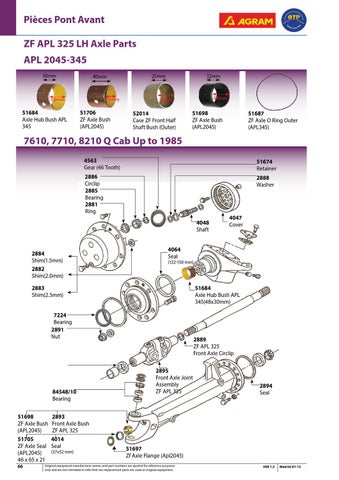 Ford_Agram by Quality Tractor Parts - issuu