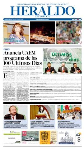 7 Febrero 2013 by Heraldo de Toluca - issuu 7f0e774083823