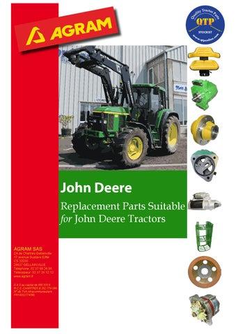 pack of 6 John Deere front wheel studs 2WD 1040 1140 1640 2040 2140 3040 3140