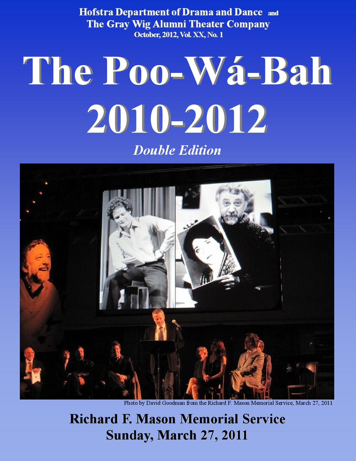 Poo W Bah 2010 2012 By Hofstra University