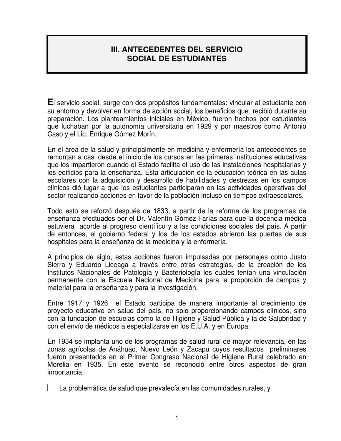 REGLAMENTO MEDICOS PASANTES by Enseñanza Jurisdiccion 10 - issuu