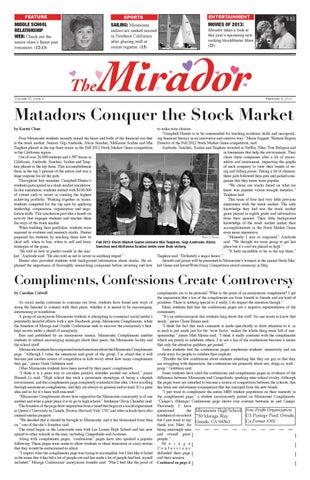February 8, 2013 by MHS Mirador - issuu