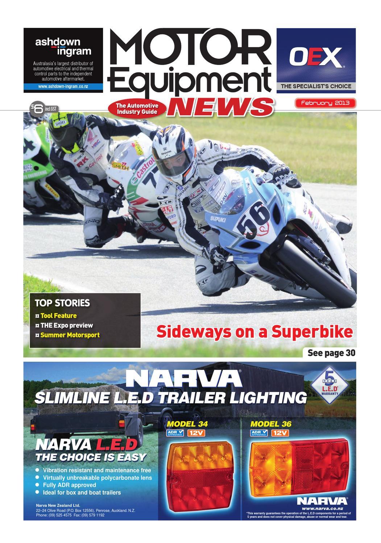 Motor Equipment News February 2013 by Adrenalin Publishing