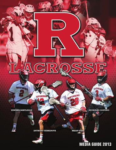2013 Rutgers Men s Lacrosse Media Guide by Rutgers Athletics - issuu cc47a215ea