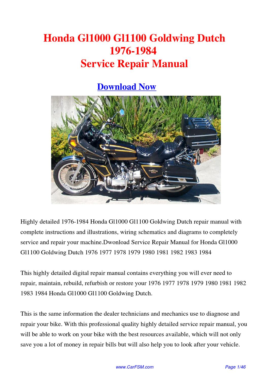 Addition Honda Goldwing Wiring Diagram As Well As 1978 Honda Goldwing