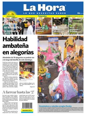 Ambato Diario La Hora 08 02 2013 By Diario La Hora Ecuador