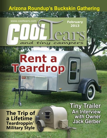 Cool Tears And Tiny Campers Magazine   February 2013 By Cool Tears ...