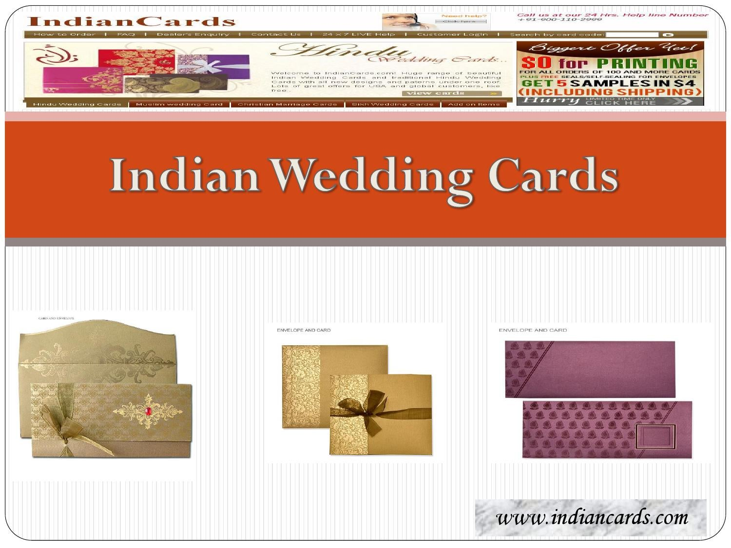 Indian Wedding Cards by Indian Cards - issuu