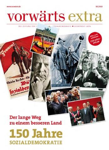 673e6cb7cee7fe vorwärts extra: 150 Jahre SPD by Redaktion vorwärts - issuu