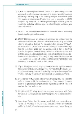 Twitter for Diplomats by DiploFoundation - issuu