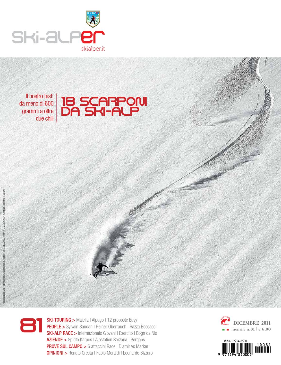 Ski-alper 81 by Mulatero Editore - issuu 1d74c8631bd